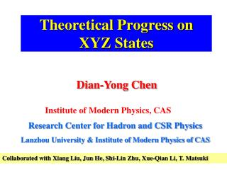 Theoretical Progress on XYZ States