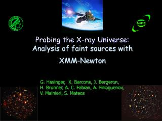 Probing the X-ray Universe: Analysis of faint sources with XMM-Newton