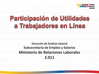 Participaci n de Utilidades a Trabajadores en L nea