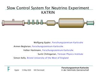 Slow Control System for Neutrino Experiment KATRIN