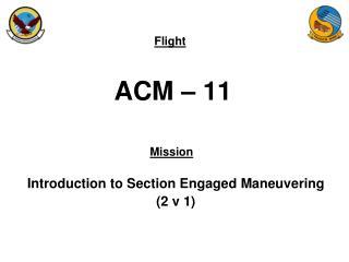 ACM – 11