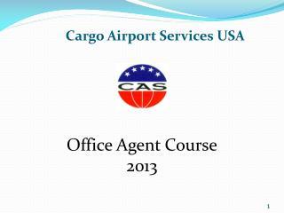Cargo Airport Services USA