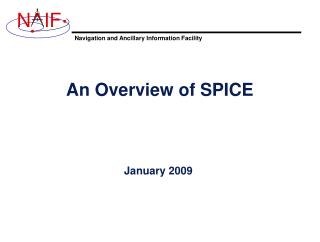 An Overview of SPICE
