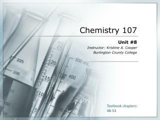 Chemistry 107