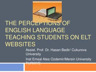 The perceptions of English Language Teaching students on ELT websites
