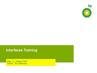 Interfaces Training