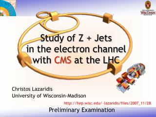 Study of Z + Jets in the electron channel  with  CMS  at the LHC