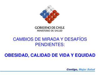 CAMBIOS DE MIRADA Y DESAFÍOS PENDIENTES: OBESIDAD, CALIDAD DE VIDA Y EQUIDAD