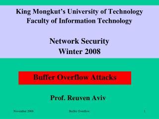 Prof. Reuven Aviv