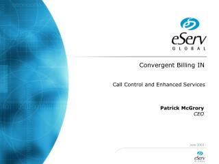 Convergent Billing IN