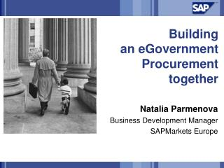 Building an eGovernment Procurement together
