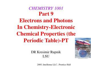 CHEMISTRY 1001