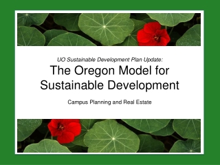 SUSTAINABLE DESIGN   NEW DEVELOPMENTS