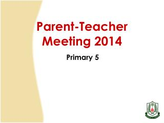 Parent-Teacher Meeting 2014