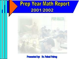 Prep Year Math Report