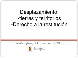 Corte Constitucional Auto 008/09