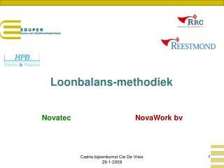 Loonbalans-methodiek Novatec NovaWork bv