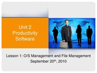 Unit 2 Productivity Software
