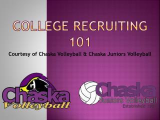 College recruiting 101