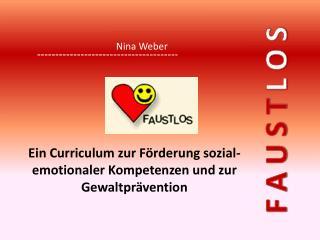 Ein  Curriculum  zur Förderung sozial- emotionaler Kompetenzen und zur Gewaltprävention