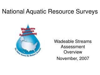 National Aquatic Resource Surveys