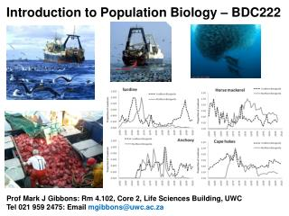 Introduction to Population Biology – BDC222