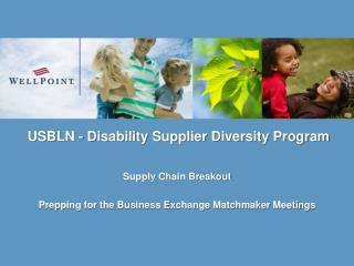 USBLN - Disability Supplier Diversity Program
