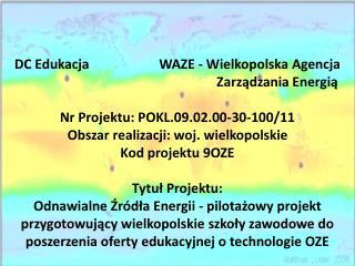 Konkurs projektów uczniowskich ZESPÓŁSZKÓŁ  GÓRNICZO-ENERGETYCZNYCH