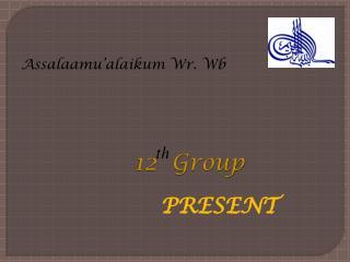 Assalaamu'alaikum Wr. Wb