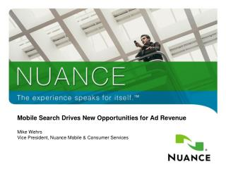Mobile Search Drives New Opportunities for Ad Revenue