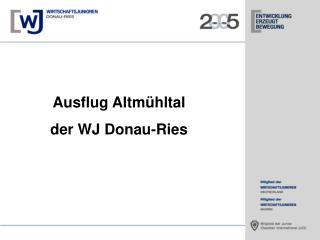 Ausflug Altm�hltal der WJ Donau-Ries