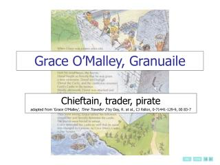 Grace O Malley, Granuaile