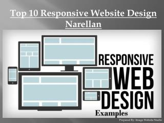 Top 10 Responsive Website Design Narellan