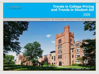 Trends in College Pricing  and Trends in Student Aid