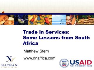 Trade in Services:  Some Lessons from South Africa