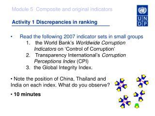 Activity 1 Discrepancies in ranking