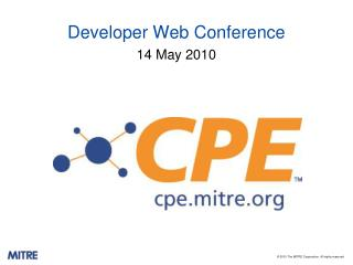 Developer Web Conference