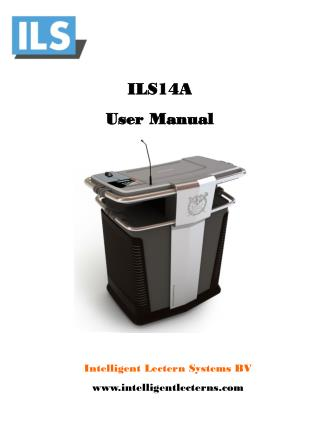 ILS14A  User Manual