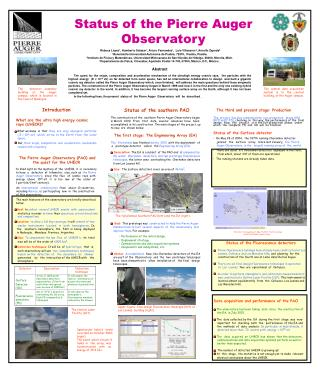 Status of the Pierre Auger Observatory