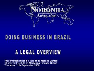 DOING BUSINESS IN BRAZIL A LEGAL OVERVIEW
