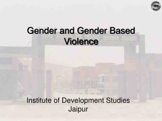 Institute of Development Studies Jaipur