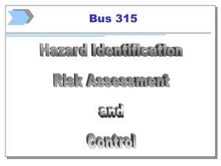 Bus 315