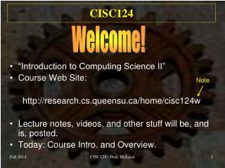 CISC124