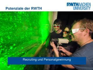 Potenziale der RWTH