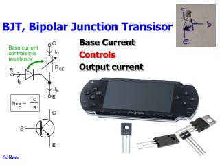 BJT, Bipolar Junction Transisor