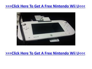 Nintendo Wii U Presents Its Own Miiverse Social Network - Ge