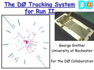 The D Ø  Tracking System for Run II