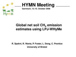 HYMN Meeting Garmisch, 13./15. October 2008