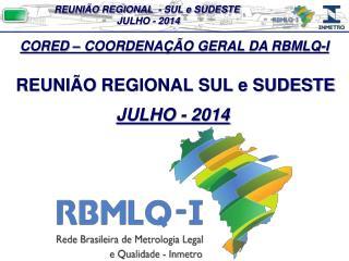 REUNIÃO  REGIONAL SUL e SUDESTE