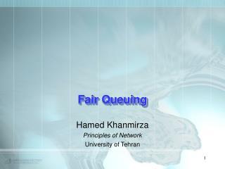 Fair Queuing